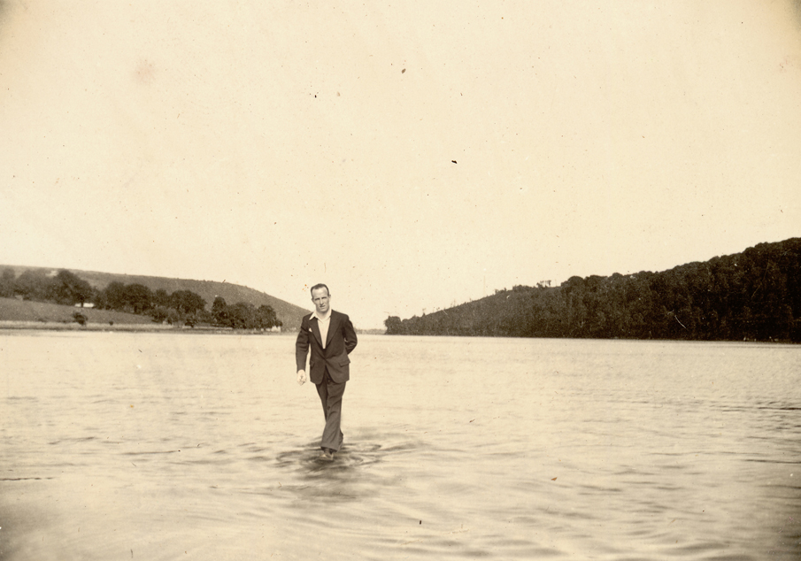 Jesus Walking on Water as a Young Man, 2010. Image courtesy of the artist