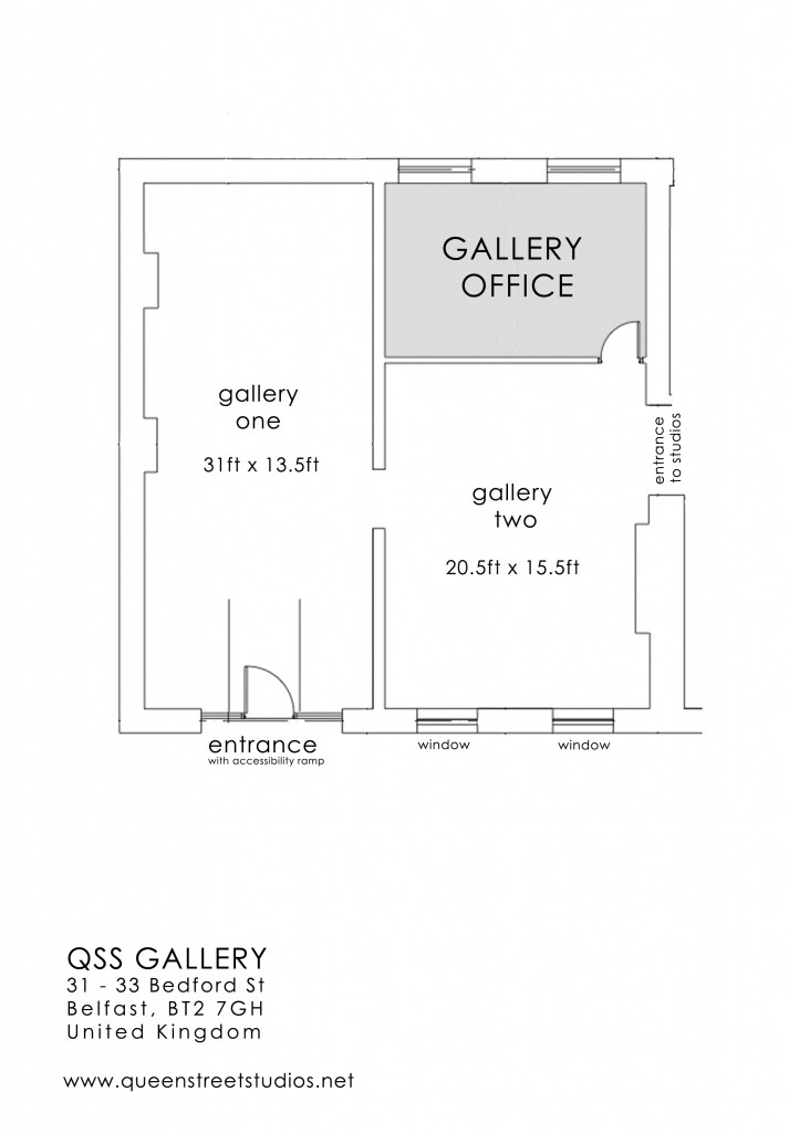 QSS gallery floor plan