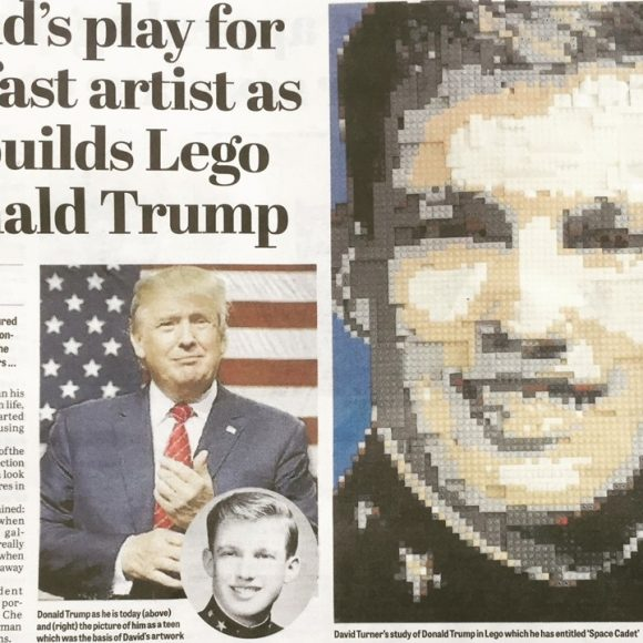 New work by QSS artist David Turner featured in The News Letter