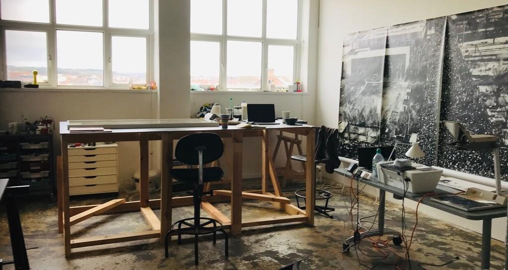 Joy's studio