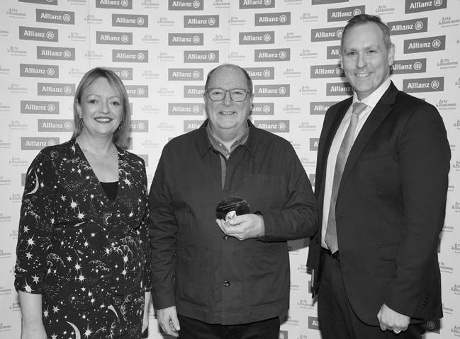 QSS win Inspirational Trustee Award at the Allianz Arts & Business NI Awards 2020
