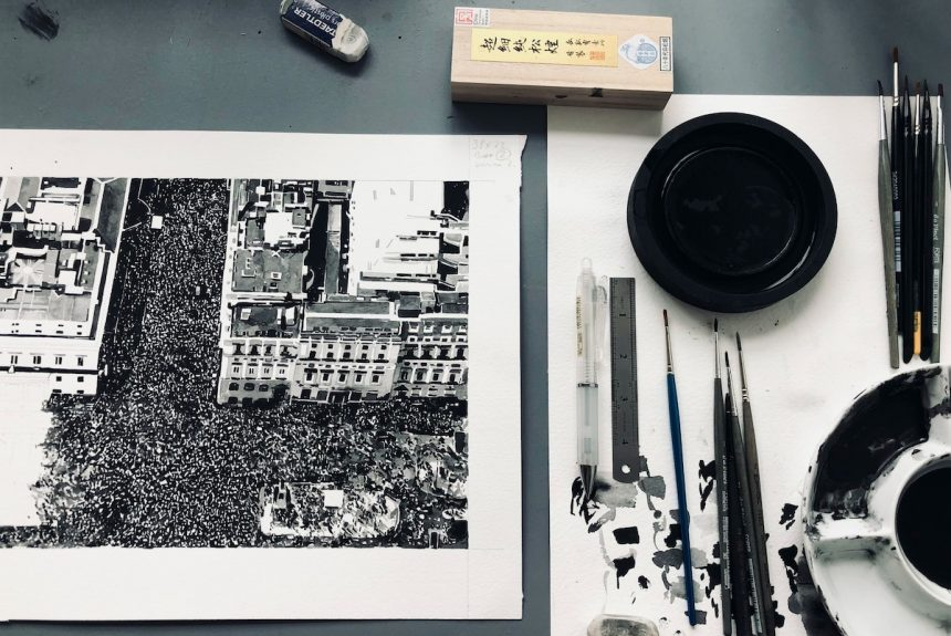 Joy Gerrard – virtual studio visit for the RHA